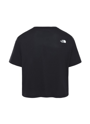 The North Face Train N Logo Kadın T-Shirt Siyah Siyah